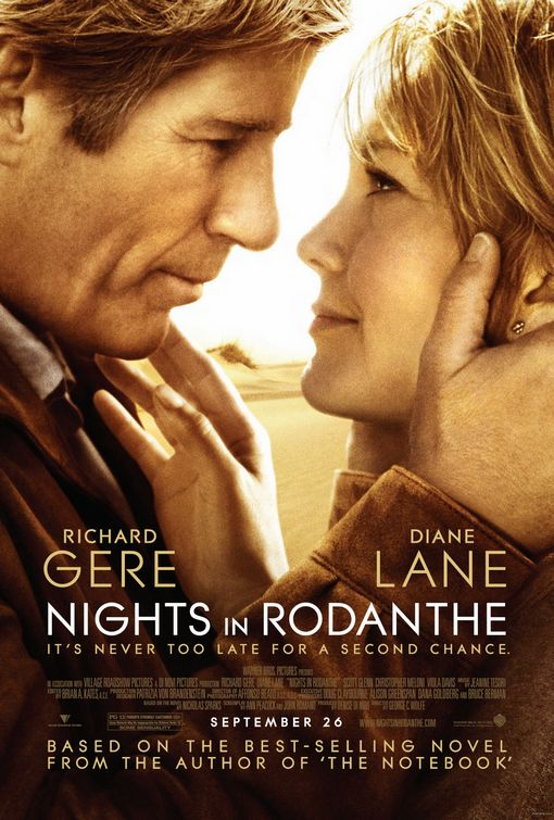 nicholas sparks films nights in rodanthe