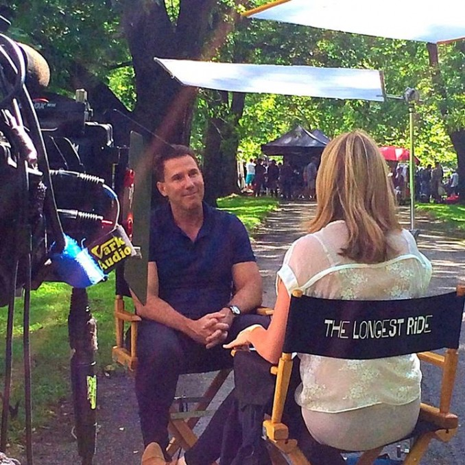 Behind the Scenes of The Longest Ride