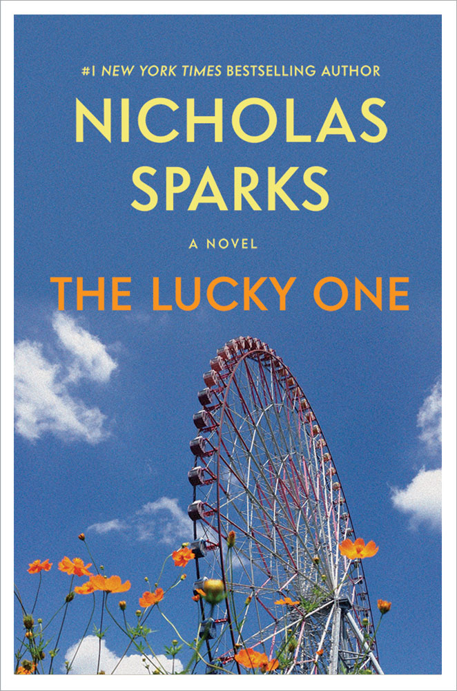 Where is there symbolism in Sparks' The Lucky One?