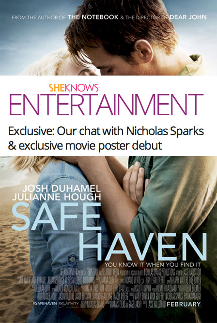 safe haven nicholas sparks book report