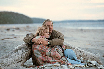 Still from Message in a Bottle
