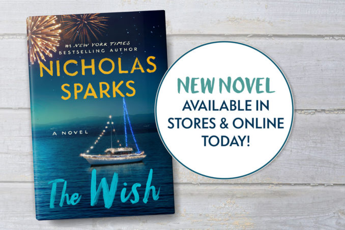 Today's the Day, <i>The Wish</i> is in stores!